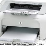 Spesifikasi Printer Type HP Color LaserJet CP2025 September 2016